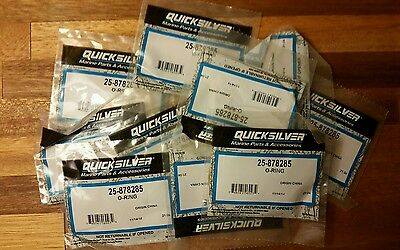 New Mercury Mercruiser Quicksilver OEM Part # 25-878285 O-RING Marine lot of 10