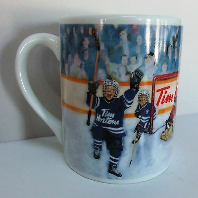 Tim Hortons Hockey Coffee Mug Winning Goal Limited Edition Collector Series 002