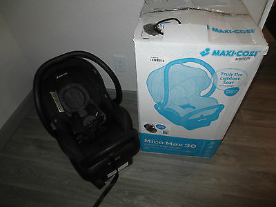Maxi Cosi Mico Max 30 Infant Car Seat Devoted Black Ic160-Biz-New