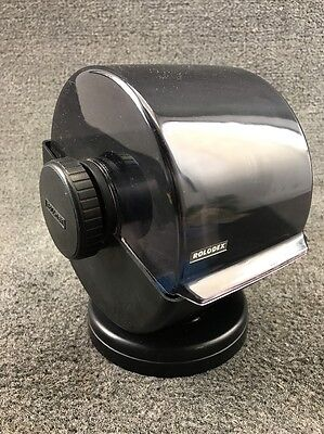 Vintage Rolodex Rotary Swivel 4x2 Card File w/ Dividers - NSW-24C - USA