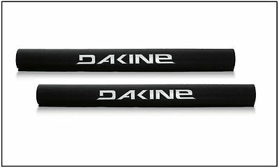 DAKINE LONG ROOF RACK PADS, Round Padded Rack Pads, Crossbar Pads, Black, *NEW*
