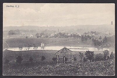 Circa 1909 Vintage Postcard Scenic View STERLING New Jersey United States