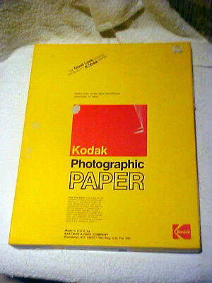 "Kodak Polycontrast Rapid II RC Photo Paper N Smooth Lustre White 50  11""x 14"""