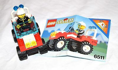 Lego Town Rescue Runabout 6511 manual AS NEW