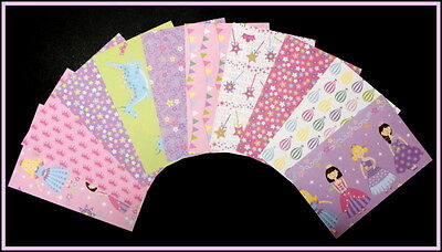 "Beautiful *FAIRYTALE* Scrapbooking/Cardmaking Papers  - 15cm x 10cm  (6""x 4"")"
