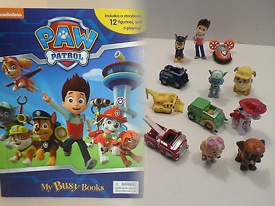 NEW Paw Patrol*Toy Figure Lot+Book Playset Figurines Birthday Party Cake Topper