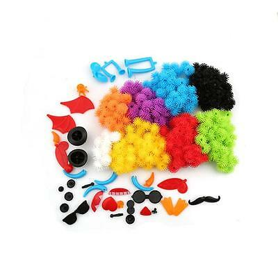 400pcs Thorn Ball Cluster Colorful Plastic For Kids Children Birthday Gift Toy