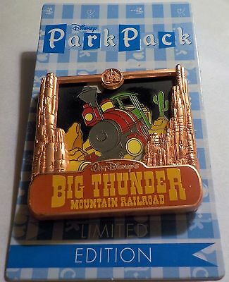 July 2016 Park Pack Big Thunder Mountain Railroad Version 2 LE 500 PIN