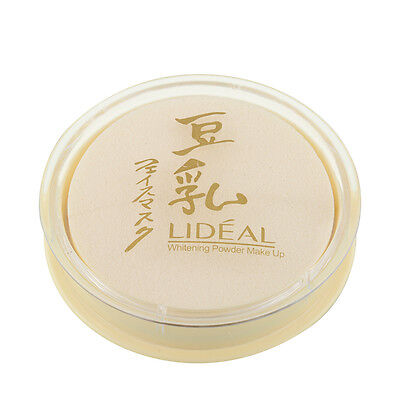 Hot Ivory White Pressed Dry Concealer Oil Control Loose Face Powder Beauty Tool