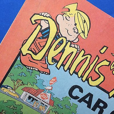 Original Vintage 1973 DENNIS MENACE DAIRY QUEEN Ice Cream Car Game Comic Book
