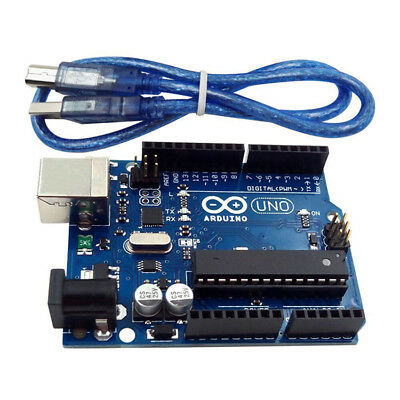 UNO R3 MEGA328P ATMEGA16U2 Development board for Arduino Compatible+USB Cable US