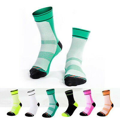 Men Women Outdoor Hiking Cycling Walking Riding Socks Comfort Breathable Sports