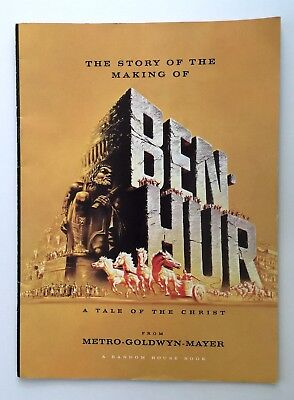 The Story of the Making of Ben-Hur 1959 Charlton Heston MGM Movie Programme