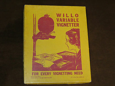Vintage Willow Variable Darkroom Vignetter