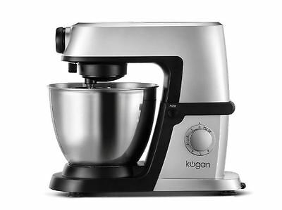 New Kogan 1200W Deluxe Stand Bowl Mixer Countertop Kitchen (Silver)