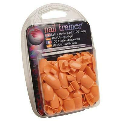 The Nail Trainer    - Refit Pack Nail Beds (100 Replacement Tips in 5 Sizes)