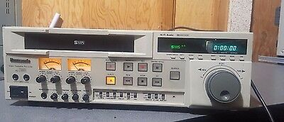 Panasonic AG-7350 VHS/S-VHS Video Cassette Recorder Player Hi-Fi Audio