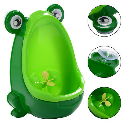 Frog Potty Toilet Training Kids Urinal for Boy Pee Trainer Children Urinal Green