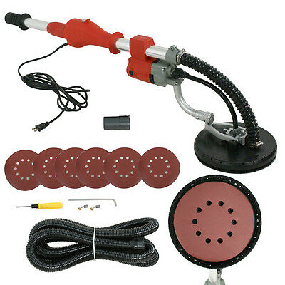 Drywall Sander 600W Commercial Electric Telescope Variable Speed Sanding Pad