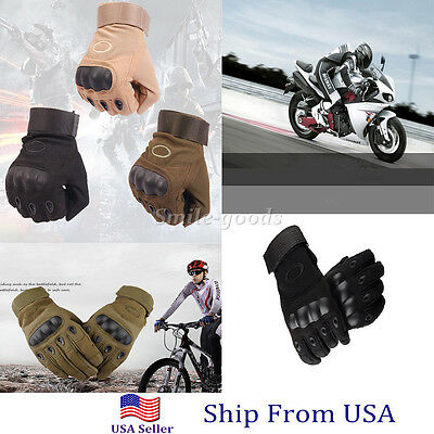 Outdoor Sport Military Tactical Full Gloves Airsoft Hunting Motorcycle Paintball