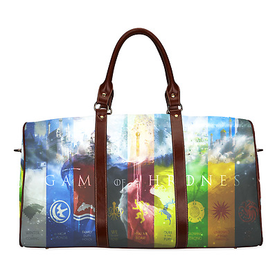 Game of Thrones Logo TV Theme Durable Canvas Travel Duffel Bag Ourdoor