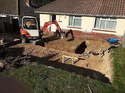 Mini Digger Hire Sussex, Surry, Kent, London