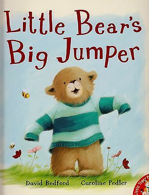 Little Bear's Big Jumper BRAND NEW BOOK by David Bedford (Paperback, 2009)