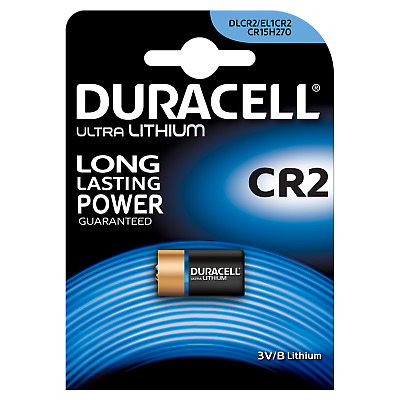 Duracell Ultra Lithium CR2 Batterie Photo CR17355 3V 1er Blister