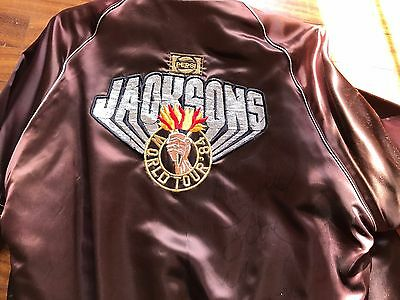 Michael Jackson Signed Victory Tour  Jacket