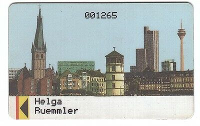 Germany Magnetic Card - Access ? - Used