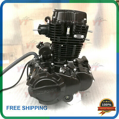 250cc engine Lifan 250 air cooled motorcycle engine with balance shaft,LF165FMM