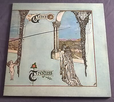 GENESIS ~ Trespass ~ UK CHARISMA CAS-1020 1st PINK SCROLL A-2U 1T / B-2U 10