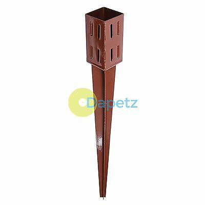 Easy-Grip Post Spike 75 X 75 X 750mm - 4 Finned Spike For Securing Fence Posts
