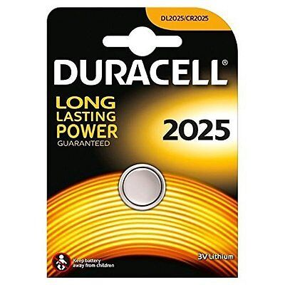 Duracell CR2025 3V Lithium Coin Cell Battery DL2025 BR2025 SB-T14