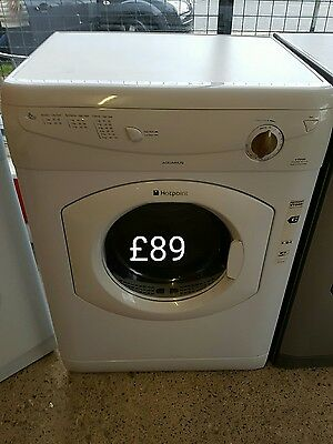 hotpoint 6kg vented tumble dryer free delivery within 30 miles