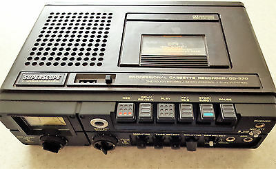 Superscope proffessional Tape Recorder CD-330