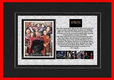 Star Trek Deep Space Nine Tv Classic Mounted Display