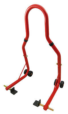 Bequille Arriere Paddock Stand Universel Rouge Yamaha R1 R6 Fazer Fz6 Xj6  Mt07