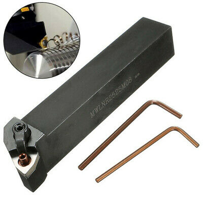 [NEW] MWLNR2525M08 25x25x150mm Lathe Turning Tool Holder For WNMG0804 Carbide In