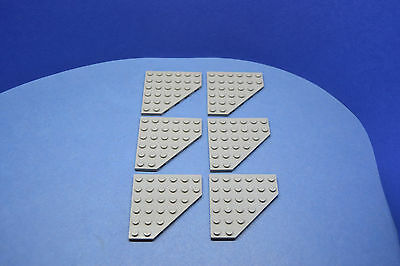 LEGO 12 x Platte mit Pin oben 2x2 althell grau oldgrey gray plate with pin 2460