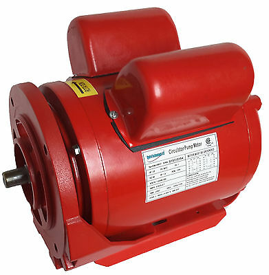 1/2hp Circulator pump motor for Armstrong and Bell and Gossett Pumps