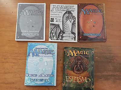 Vintage How To Play Manuals Magic The Gathering