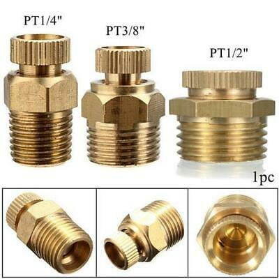 [NEW] 1Size Only PT 1/2 or 1/4 Inch Brass Drain Valve Air Compressor Male Thread