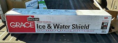 """W R Grace 36"""" x 36' Ice & Water Shield Roof Membrane Underlayment 108 sq ft"""