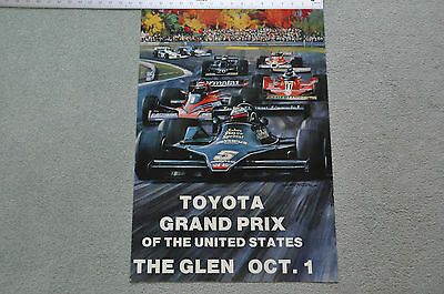 1978  Toyota Grand Prix Of The United States At The Glen Poster