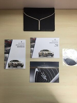 Maserati Quattroporte 2014 Owners Manuals Books And Dvd  / Mint/