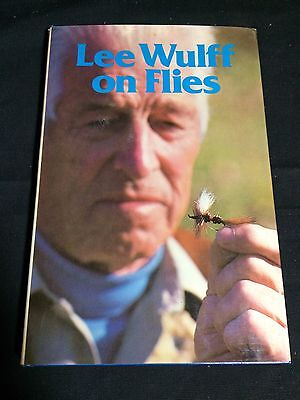 """""""Lee Wulff on Flies"""" Signed by Author, 1980 First Edition Fly Fishing Book"""