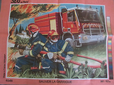 Canvas Tapestry Needlepoint Printed Embroidery Gobelin Seg Sauver Garrigue New