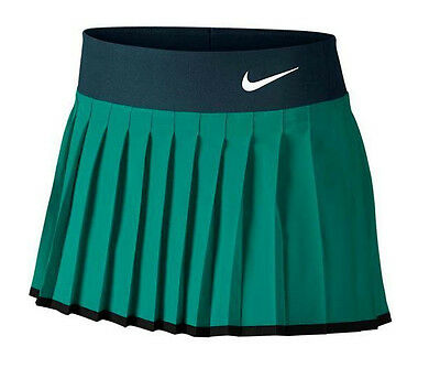 Nike Girls Victory Tennis Skirt - Skort - Sz - L / Age 12-13 - 724714-351 - Teal