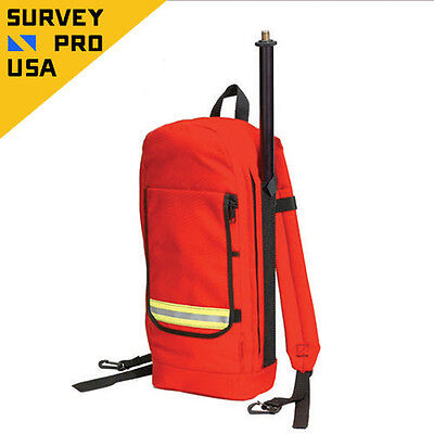 New - GIS Backpack With Antenna Pole Lightweight Padded Survey
